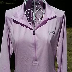 NWT UNDER ARMOUR Pink HeatGear Top M